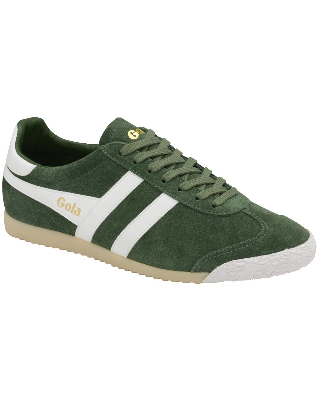 Harrier 50 GOLA Men's Mod 1968 Retro Trainers G/W