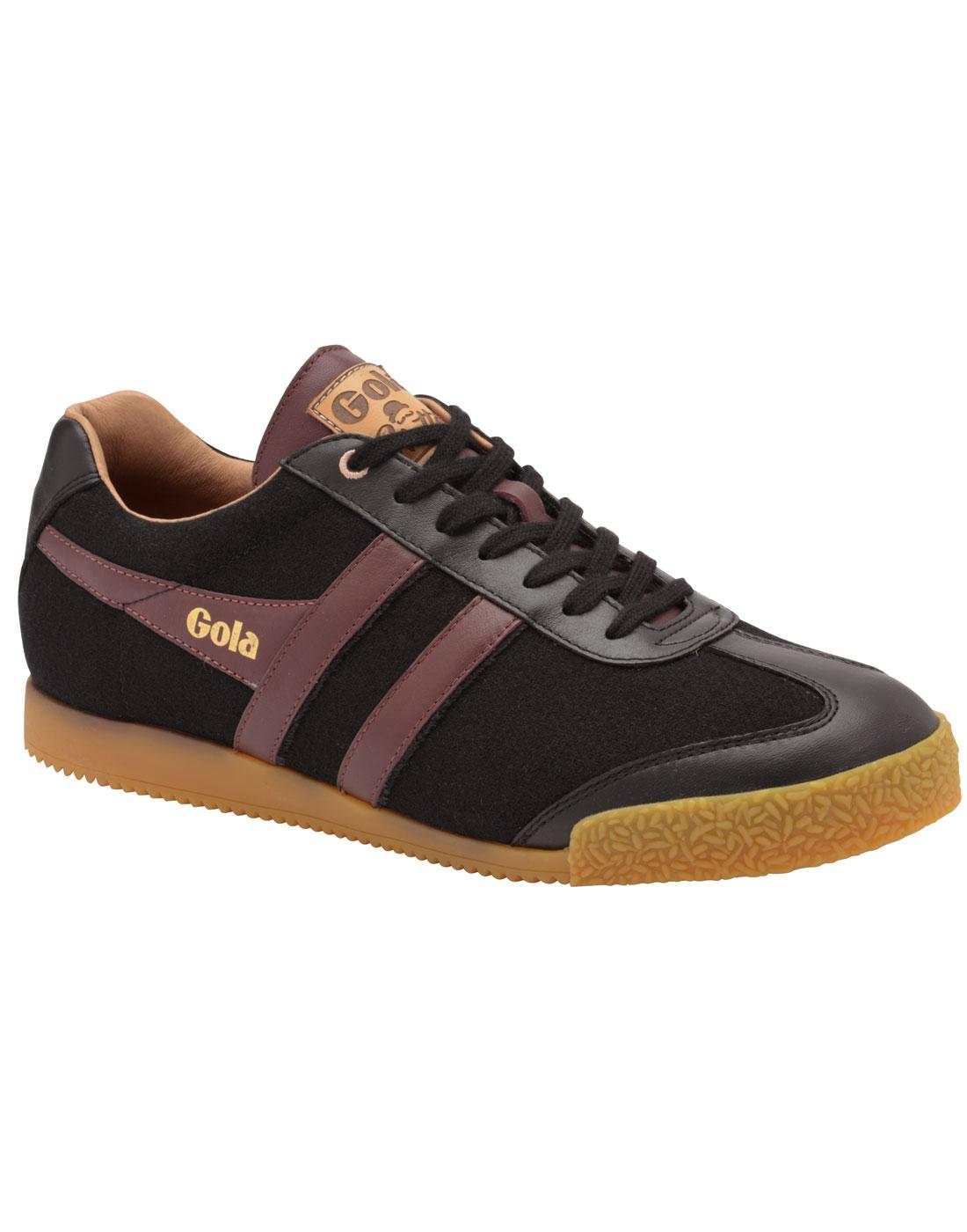 Harrier Hatters Bowler GOLA Retro 1970s Trainers