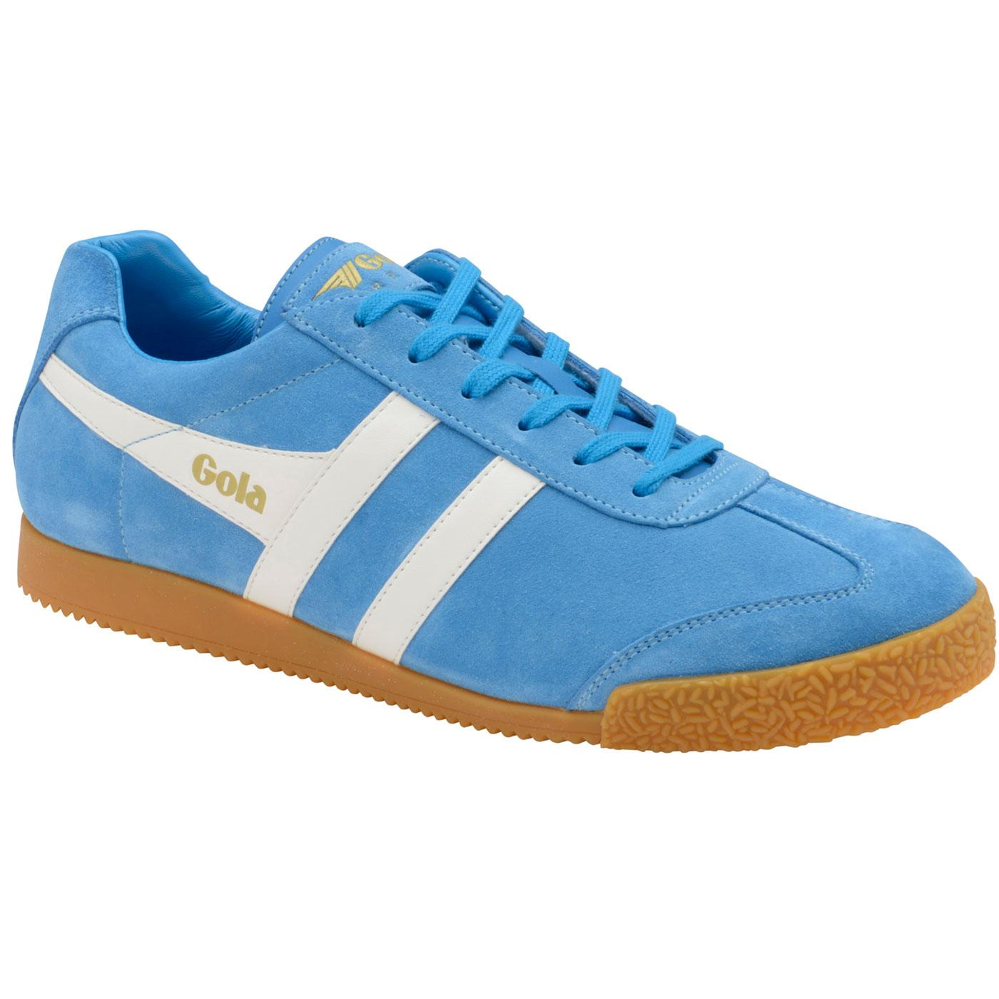 GOLA Harrier Suede Mens Retro Trainers (Santorini)