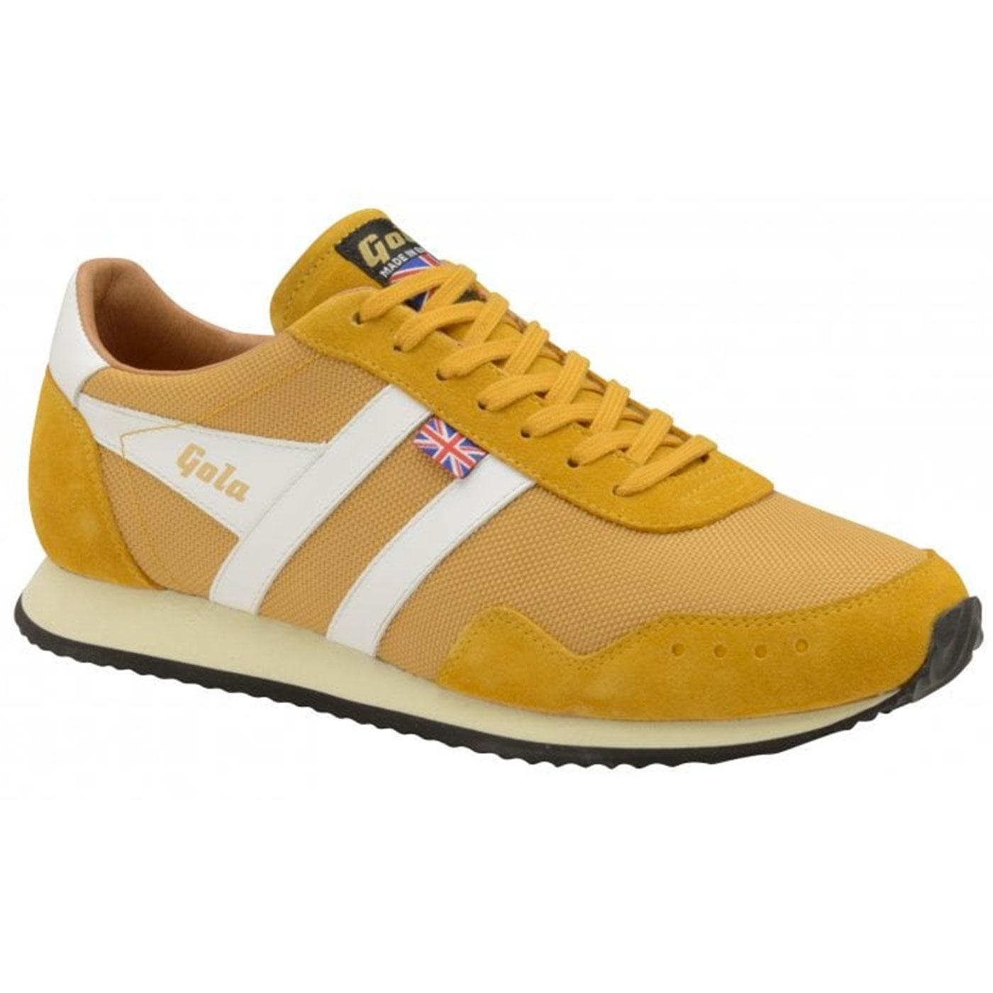 Track Mesh GOLA Made in England Retro Trainers S/W