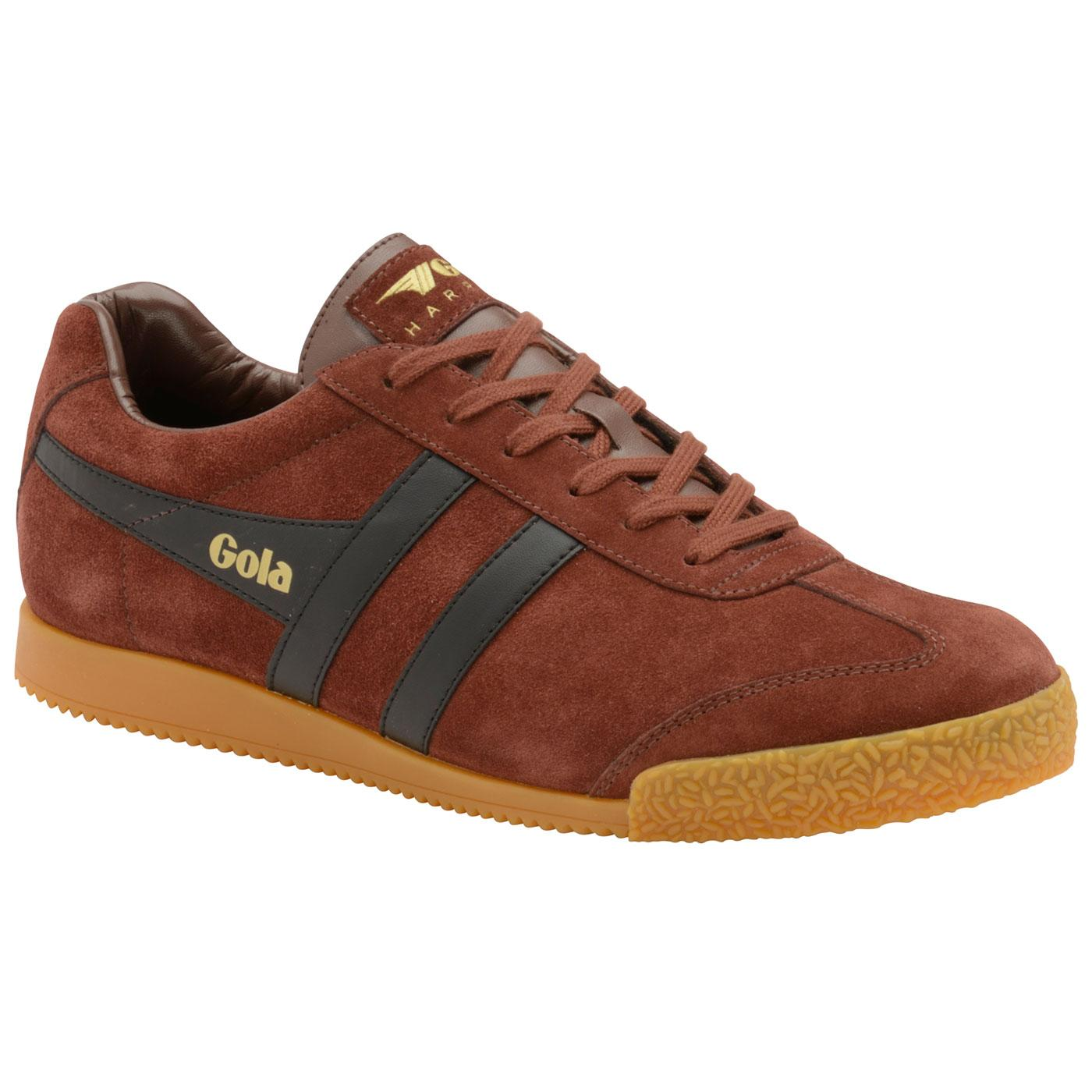 GOLA Harrier Suede Mens Retro 1970s Trainers (C/B)