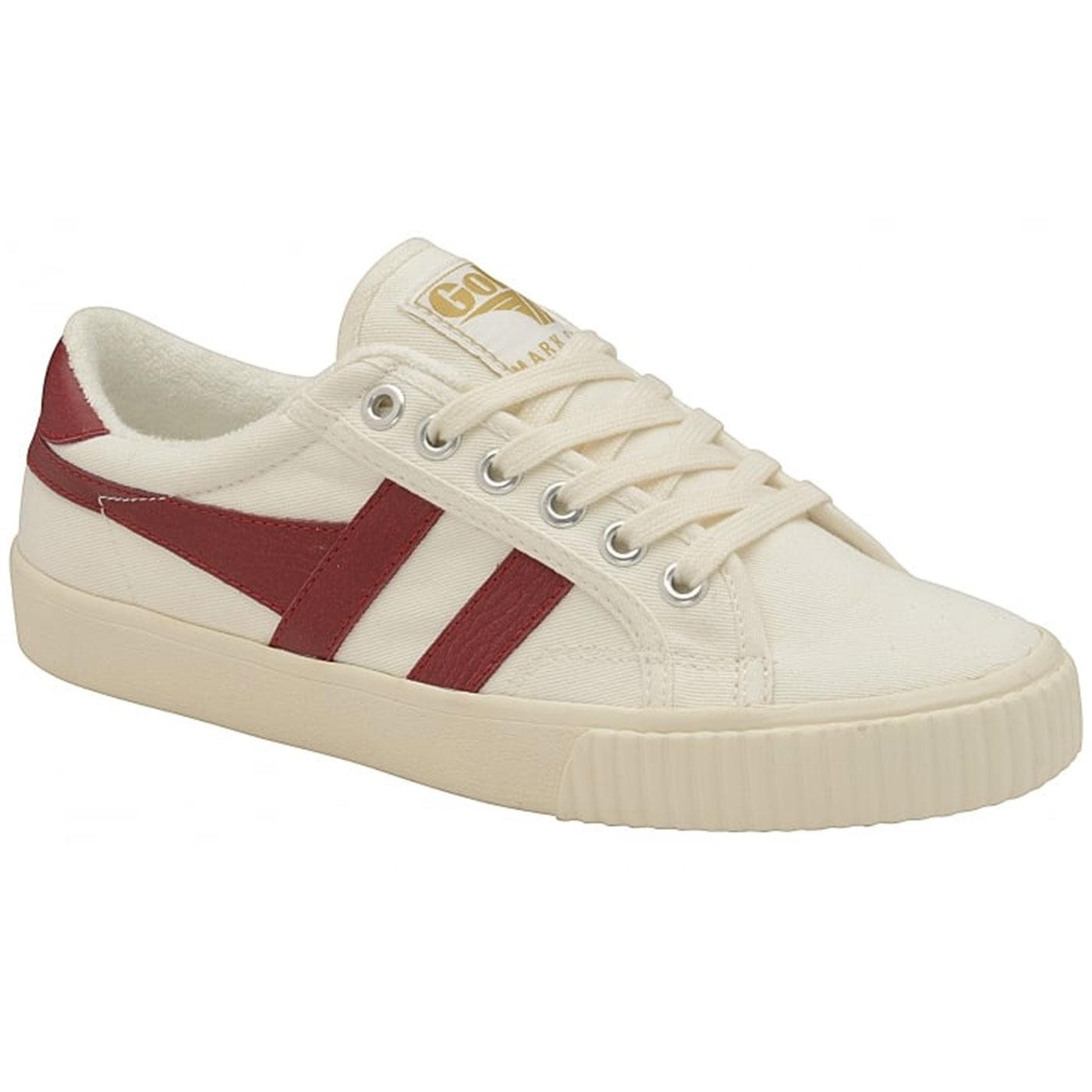 GOLA Mark Cox Womens Retro 70s Tennis Trainers W/R