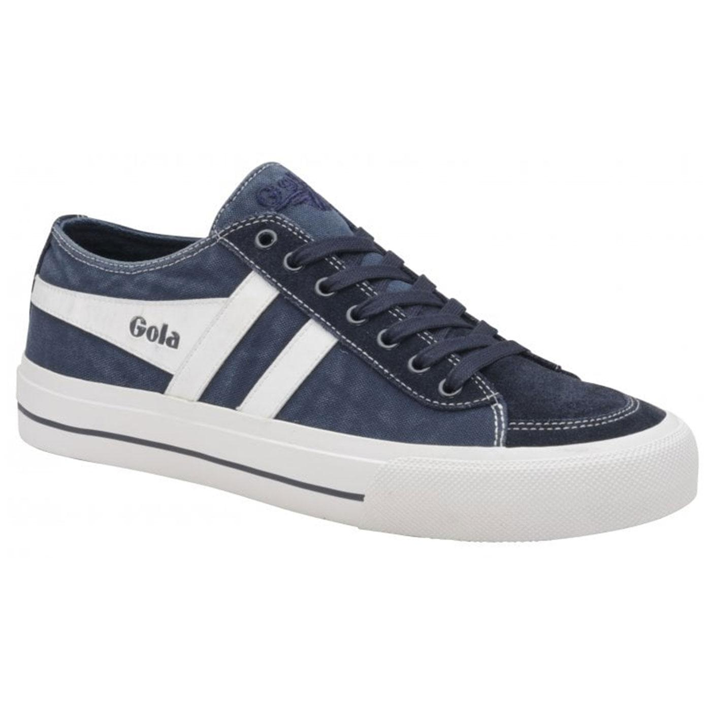 Quota II GOLA Men's Retro Washed Canvas Trainers N