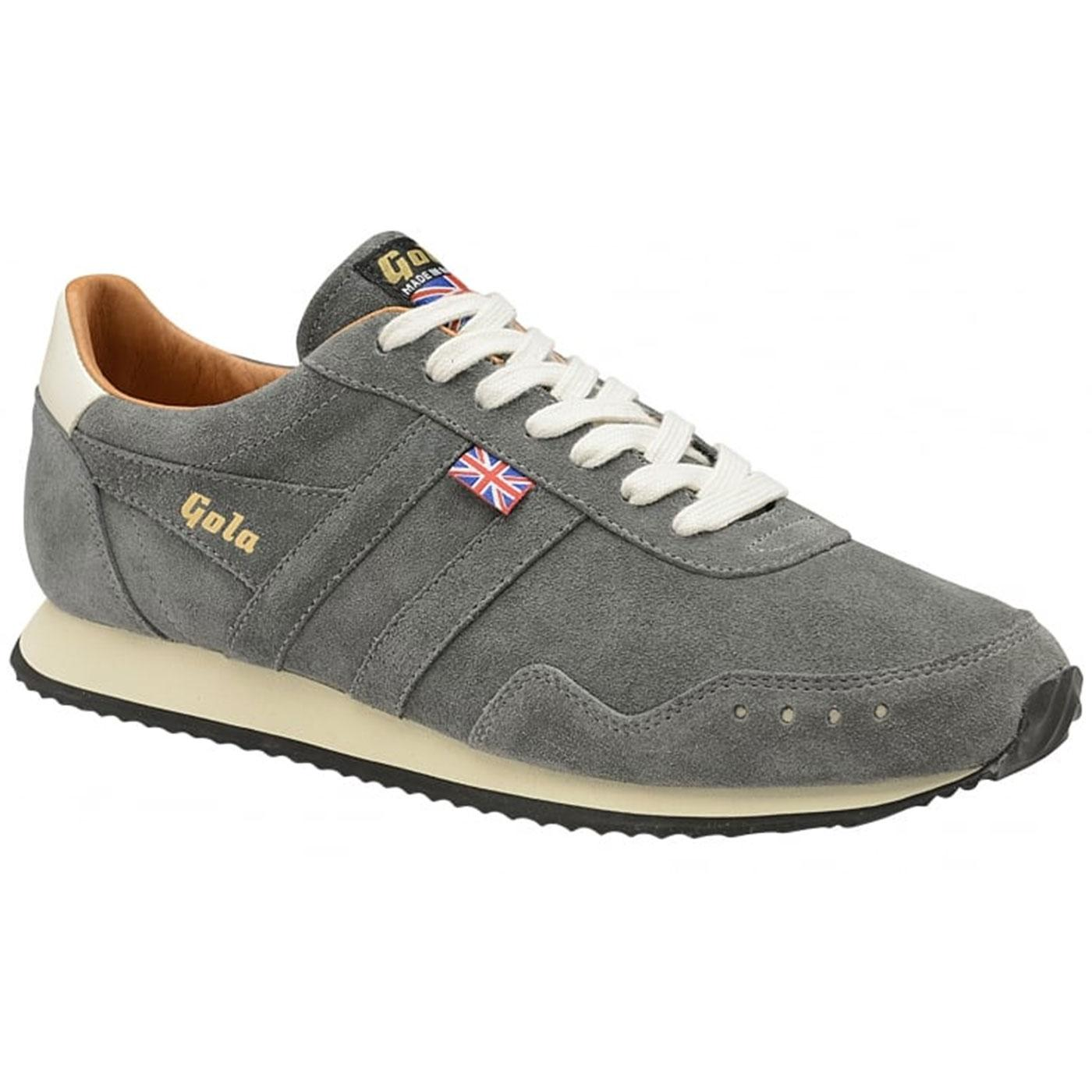Track Suede GOLA Made in England Retro Trainers G
