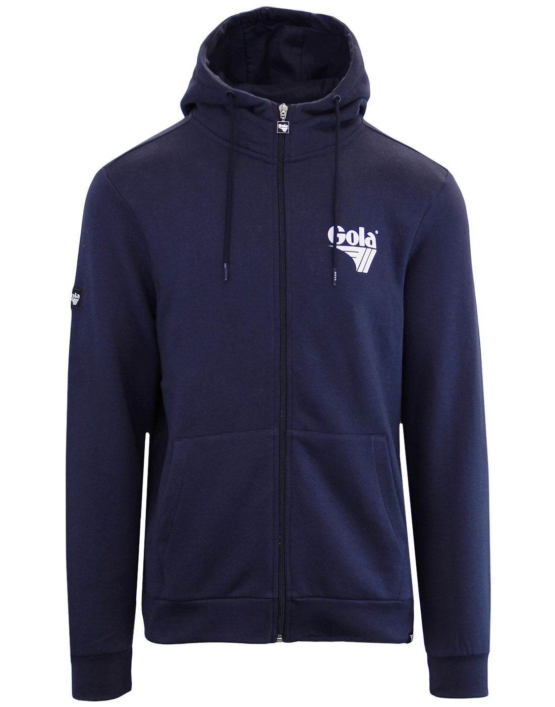 Hunt GOLA CLASSICS Retro 80's Zip Up Hoodie (N)