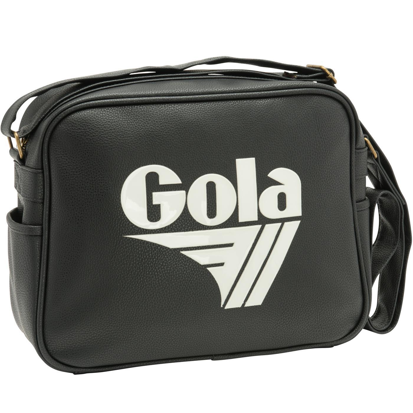 Redford Tournament GOLA Retro Messenger Bag BLACK