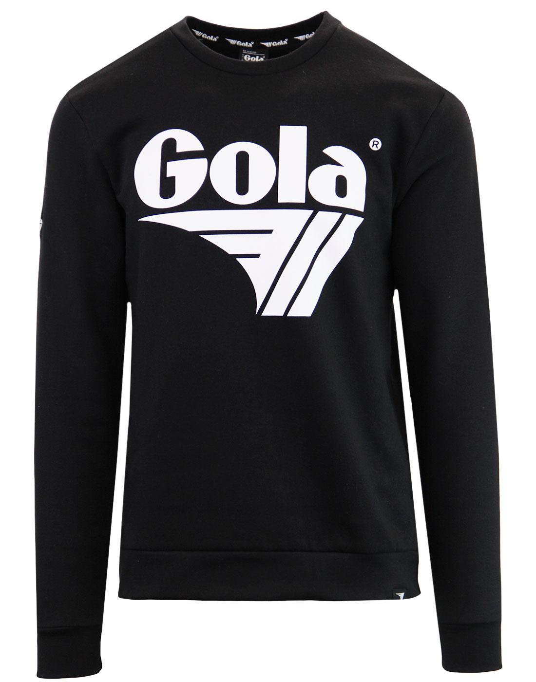Bell GOLA CLASSICS Retro 80's Logo Sweatshirt