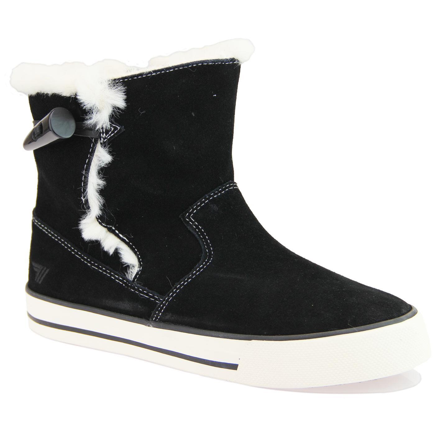 Sidewalk GOLA Retro 70s Fur Lined Trainer Boots B