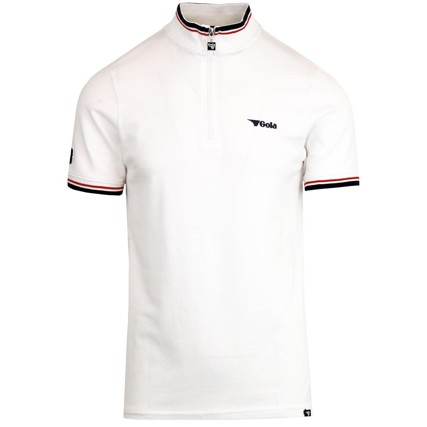Aston GOLA CLASSICS Retro Zip Neck Cycling Top (W)