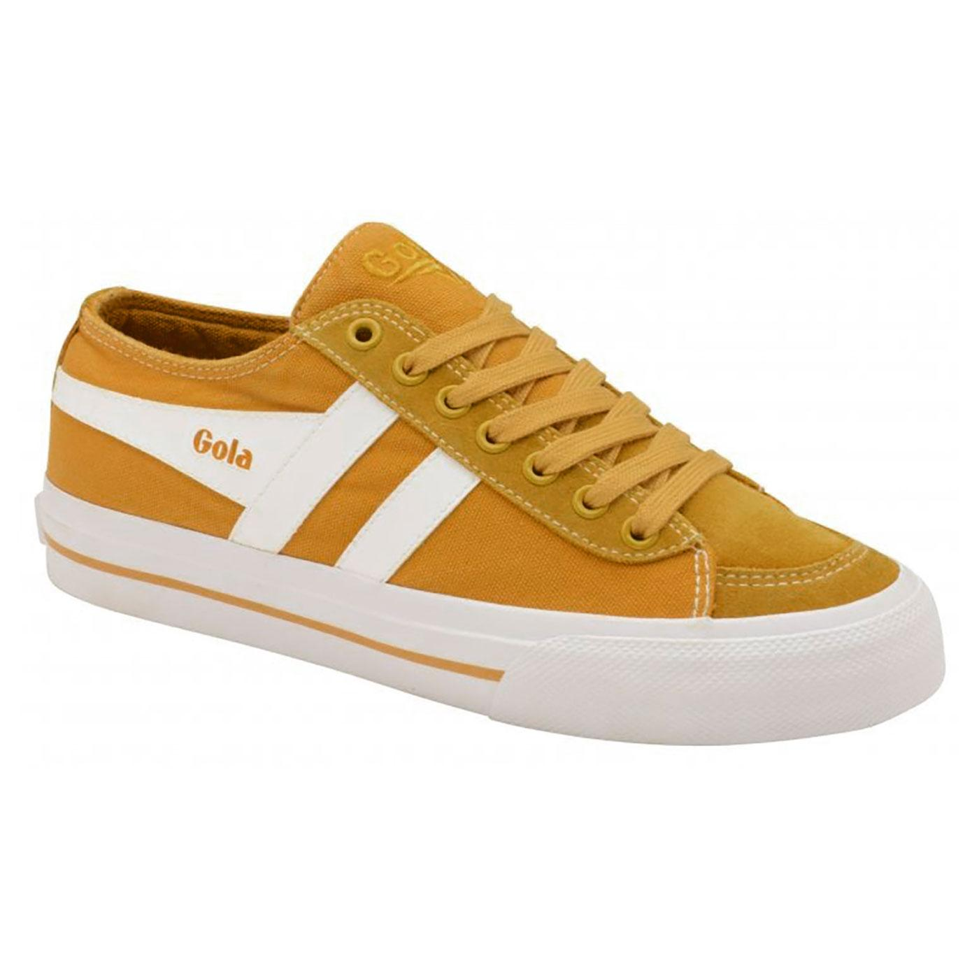 Quota II GOLA Womens 70s Washed Canvas Trainers Y