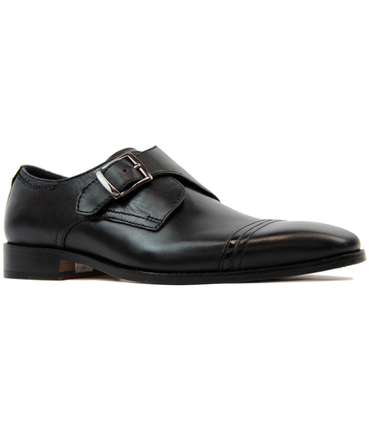 Sawley GOODWIN SMITH Retro Mod Monk Strap Shoes