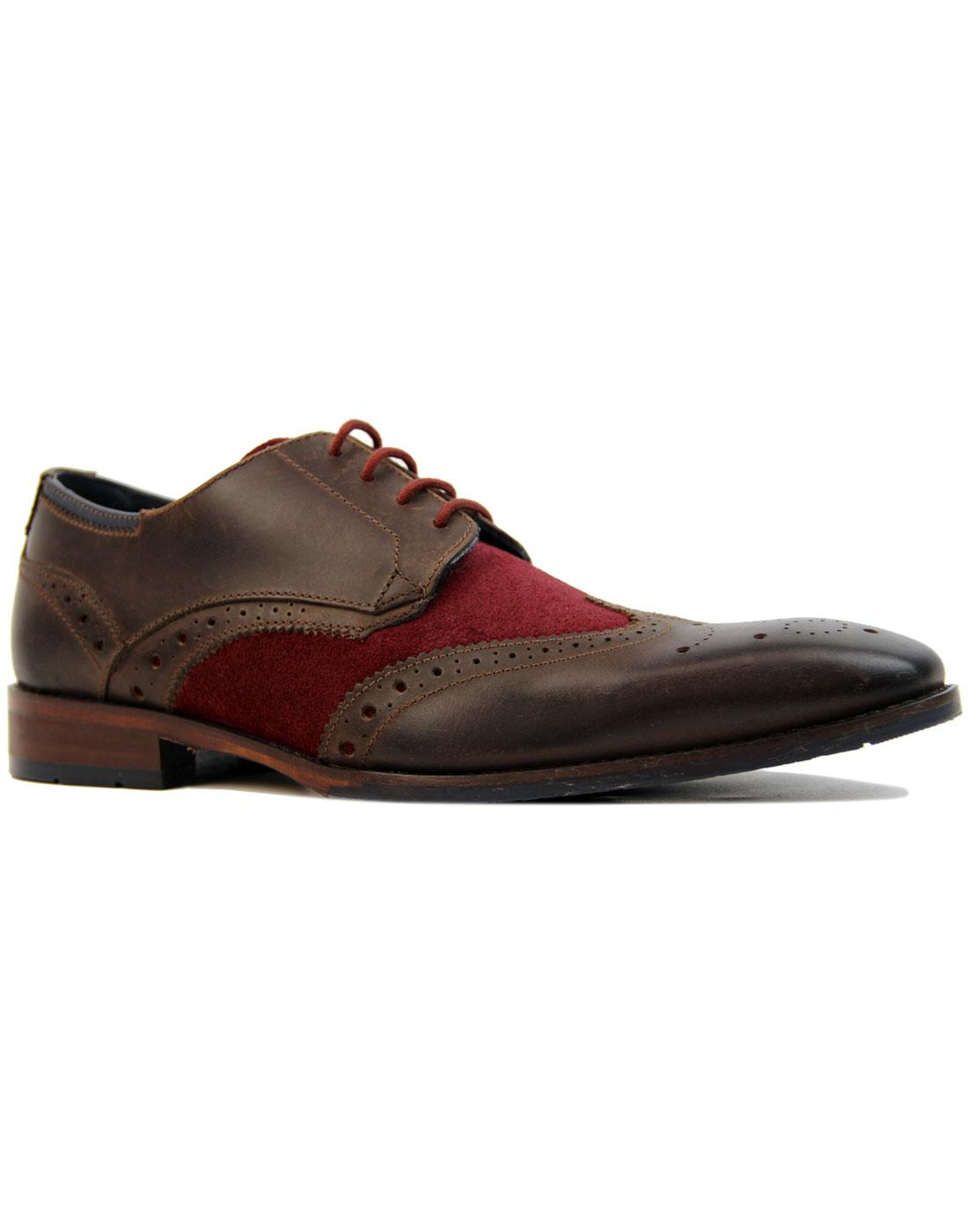 Church GOODWIN SMITH 60s Mod 2 Tone Brogues (W/B)