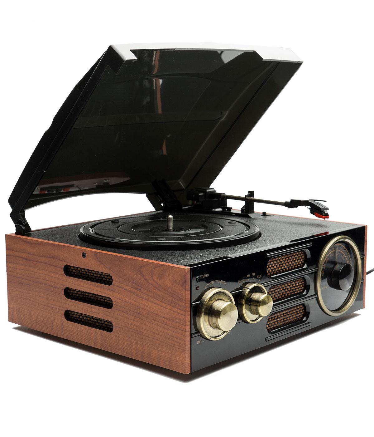 Empire GPO RETRO Vintage FM/AM Radio Record Player