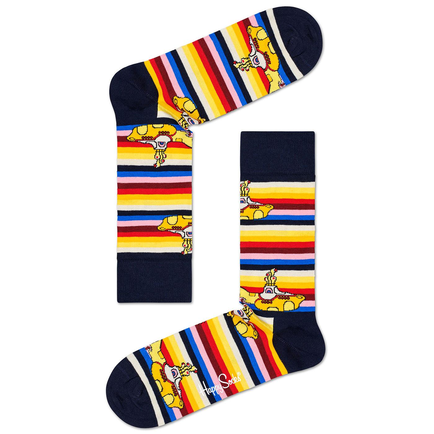 + HAPPY SOCKS x THE BEATLES All On Board Socks