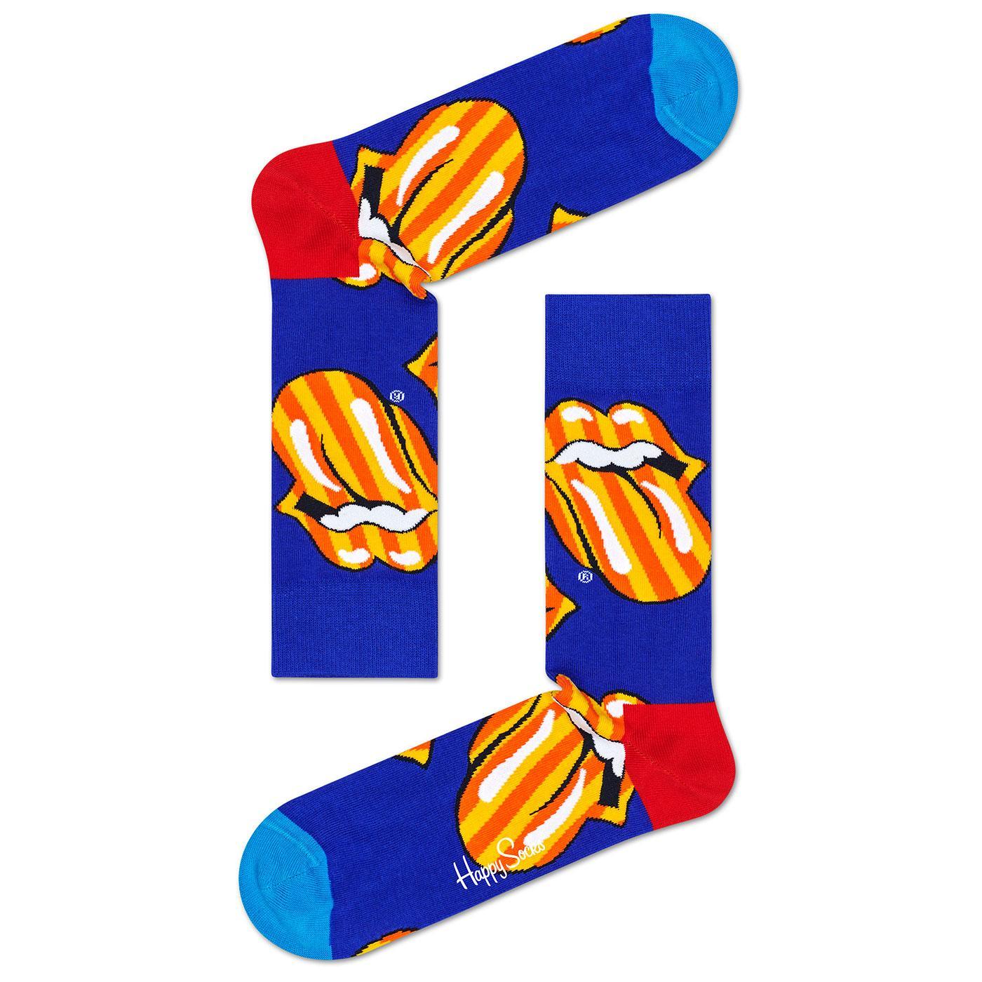 + HAPPY SOCKS ROLLING STONES Tumbling Stripes Sock
