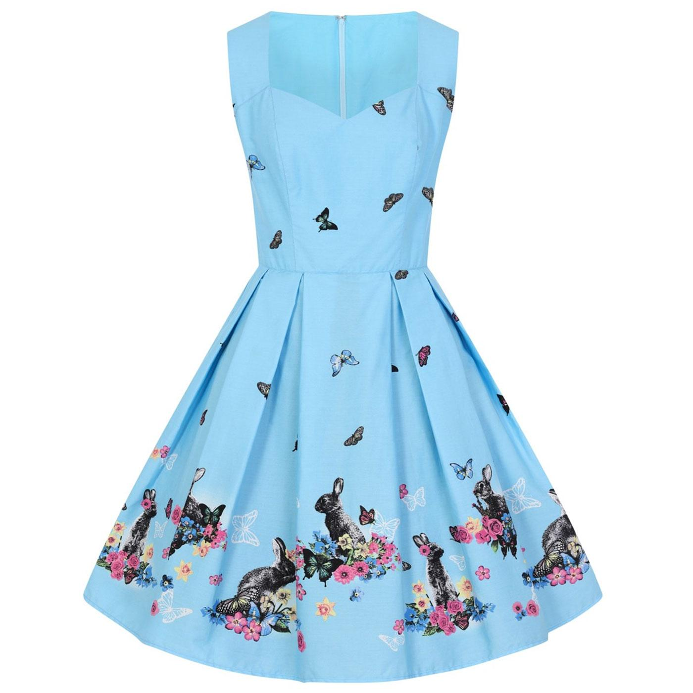 Cotton Tail HELL BUNNY Retro 60s Summer Dress