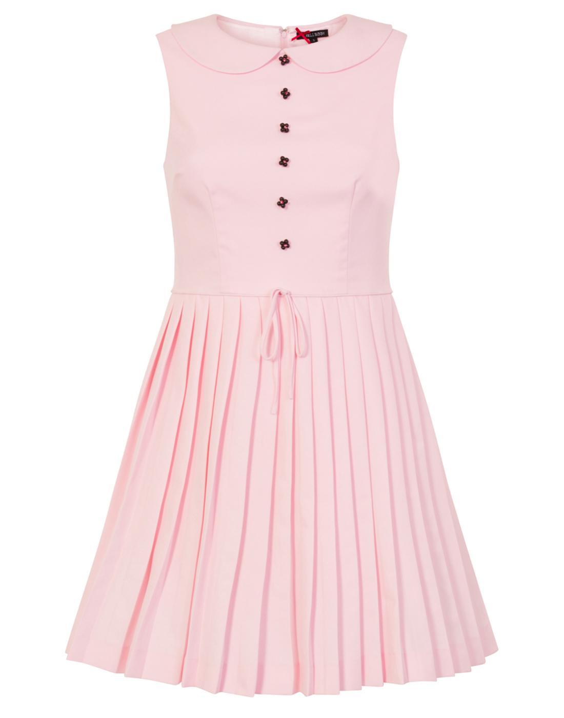 Josephine HELL BUNNY 60s Retro Mod Mini Dress P