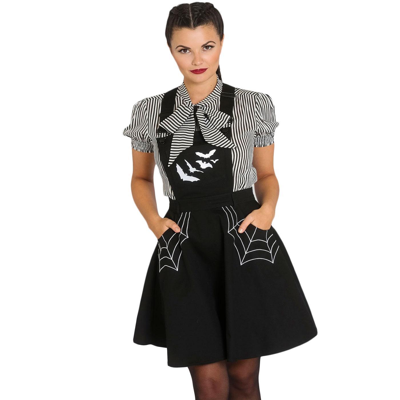 Miss Muffet HELL BUNNY Halloween Pinafore Dress