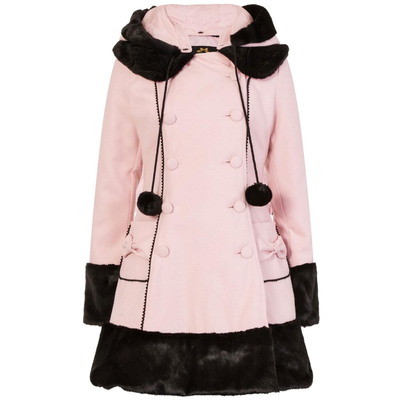 Sarah Jane HELL BUNNY Womens Vintage Winter Coat P
