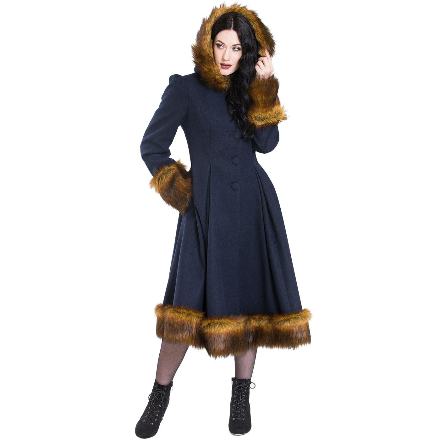 Robin HELL BUNNY Retro 50s Vintage Winter Coat