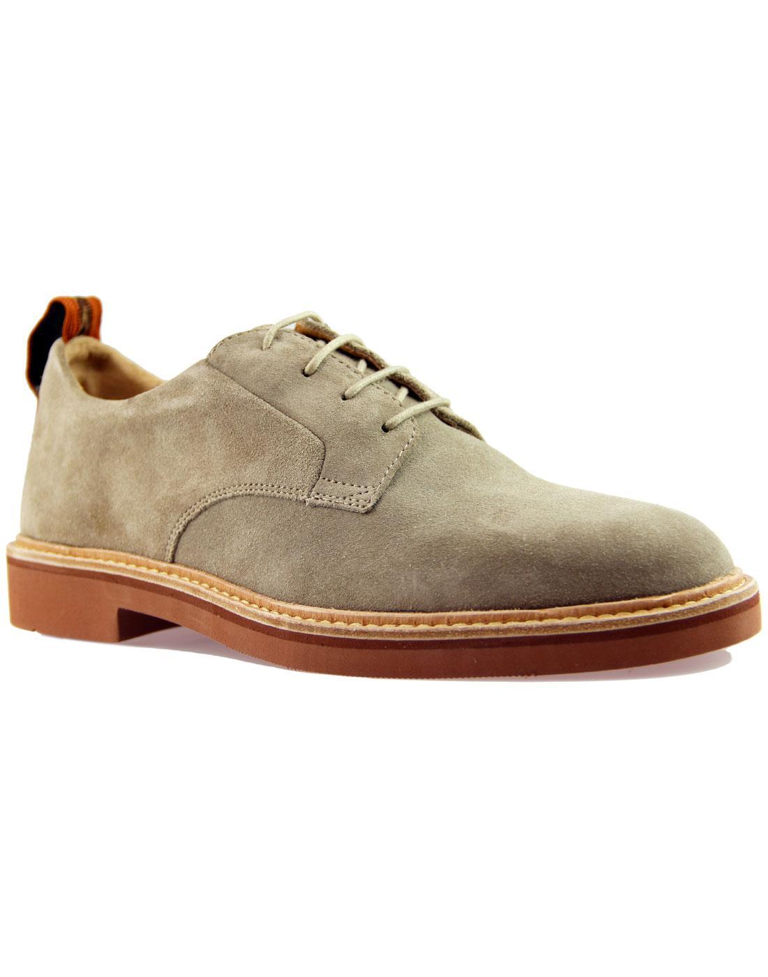 Malto HUDSON 365 Collection Mod Suede Shoes Stone
