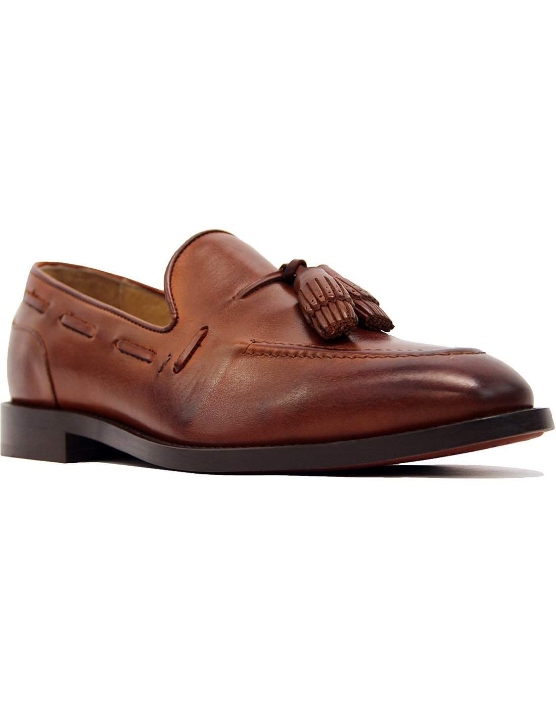 Benedict H by HUDSON Retro 60s Tassel Loafers