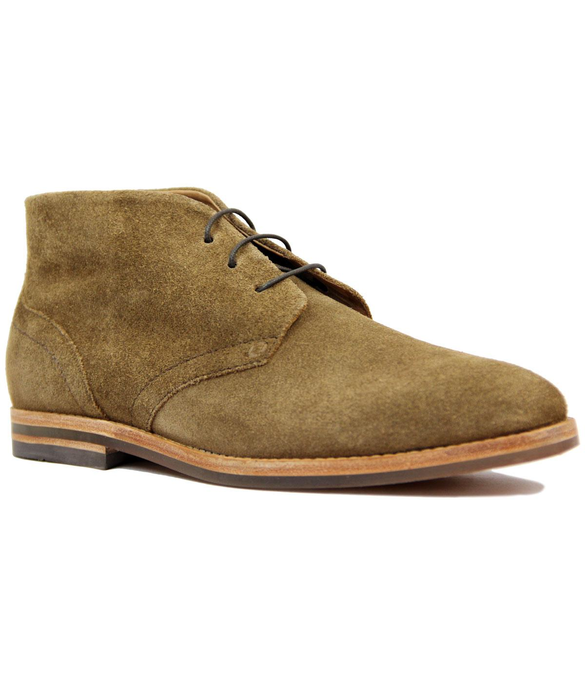 Houghton 3 H by HUDSON Mod Suede Desert Boots (T)