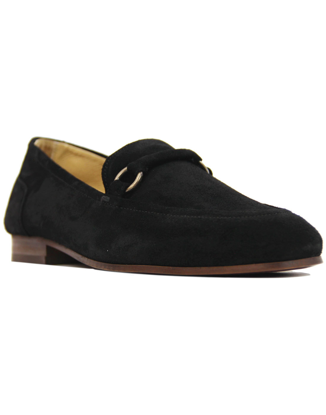 Renzo H by Hudson Mod Handcrafted Suede Loafers
