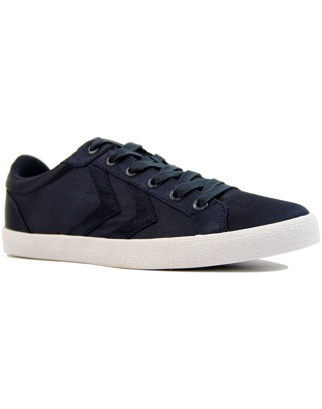 Deuce Court Satin HUMMEL Retro Chevron Trainers