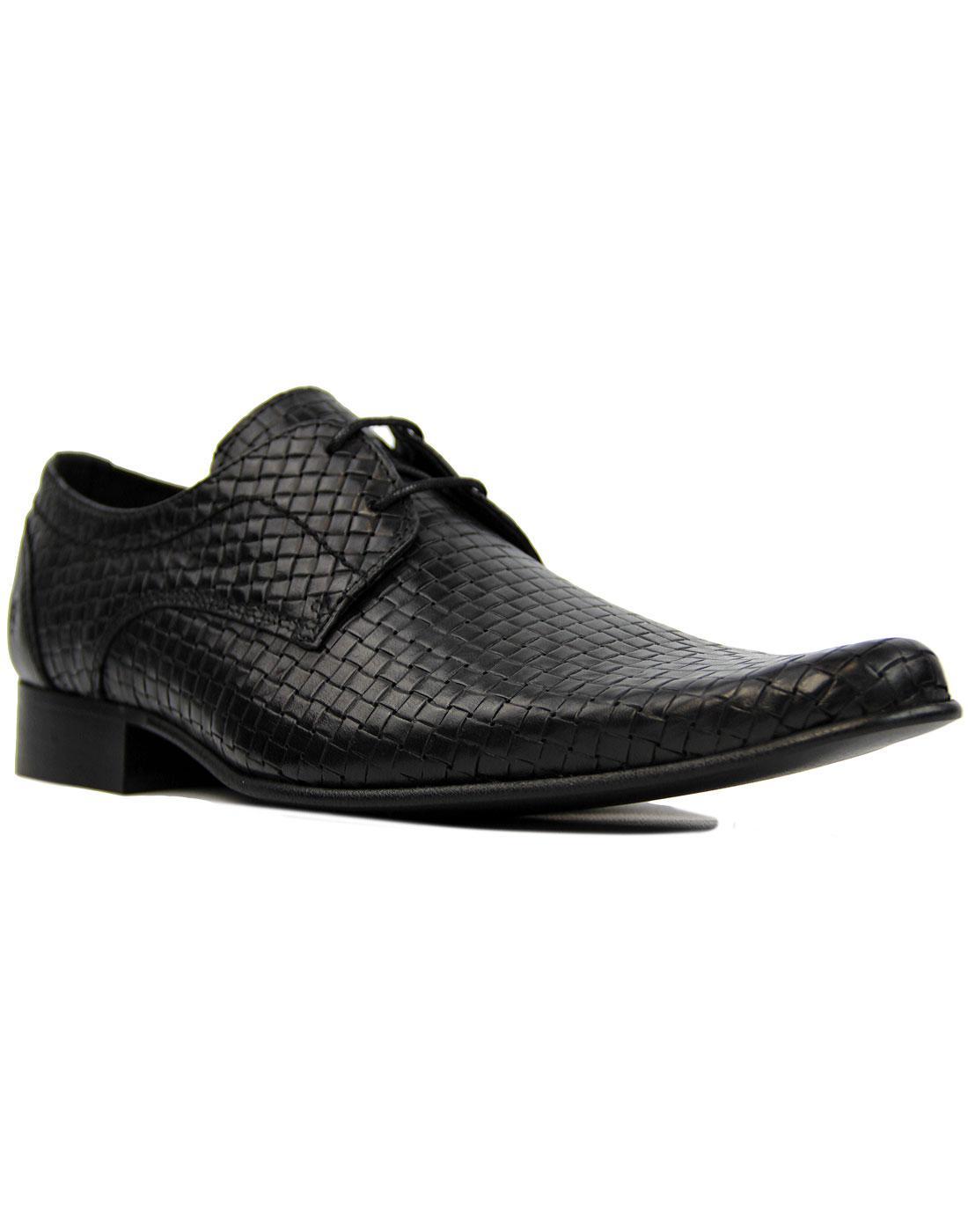 Buckler IKON ORIGINAL Retro Mod Basketweave Shoes