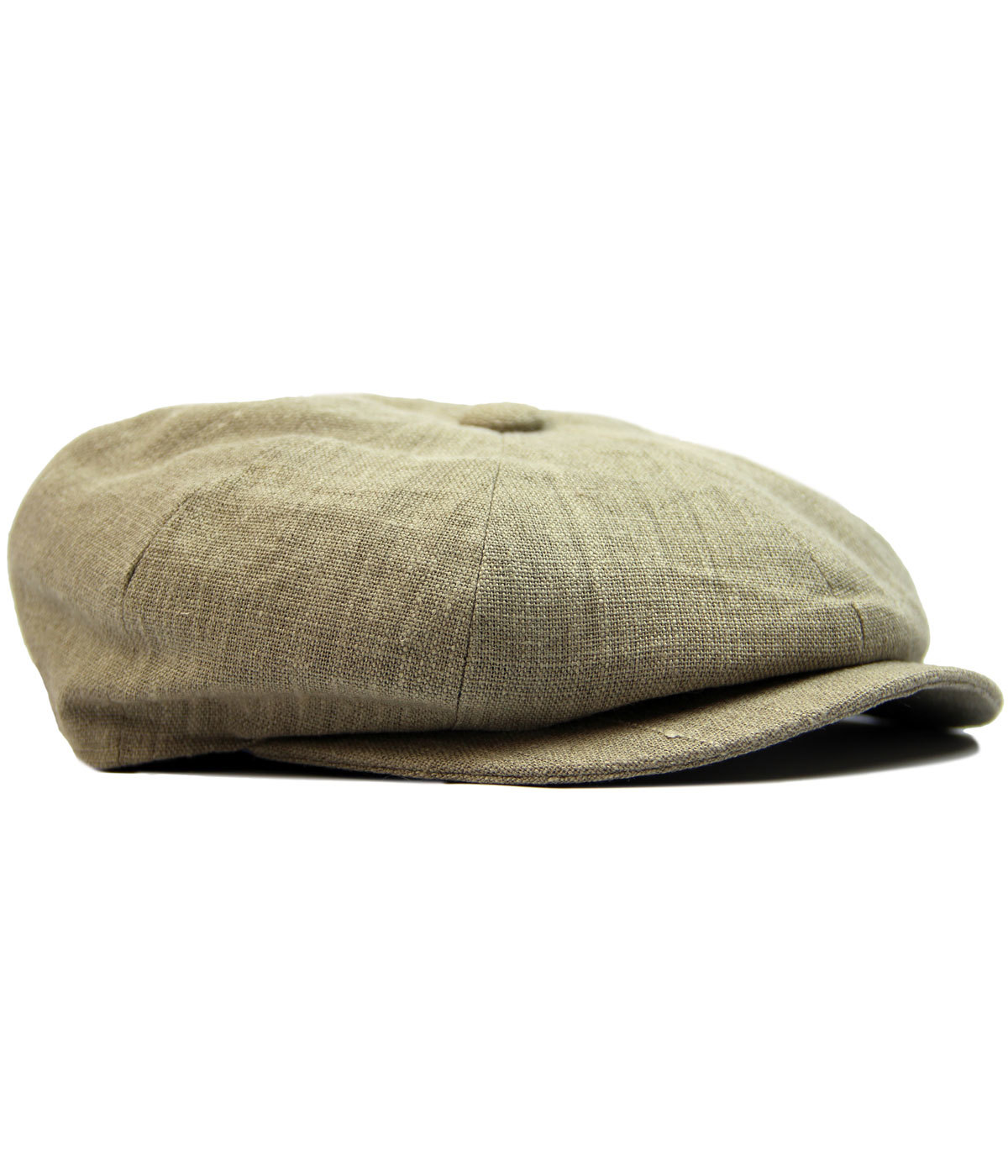 Alfie FAILSWORTH Irish Linen 8 Panel Gatsby Cap B