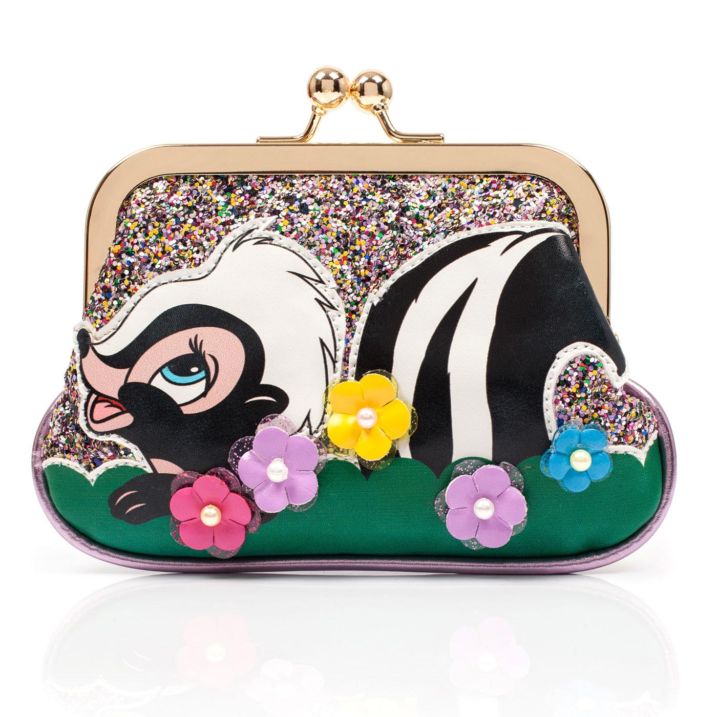 Bashful Skunk IRREGULAR CHOICE BAMBI Flower Purse