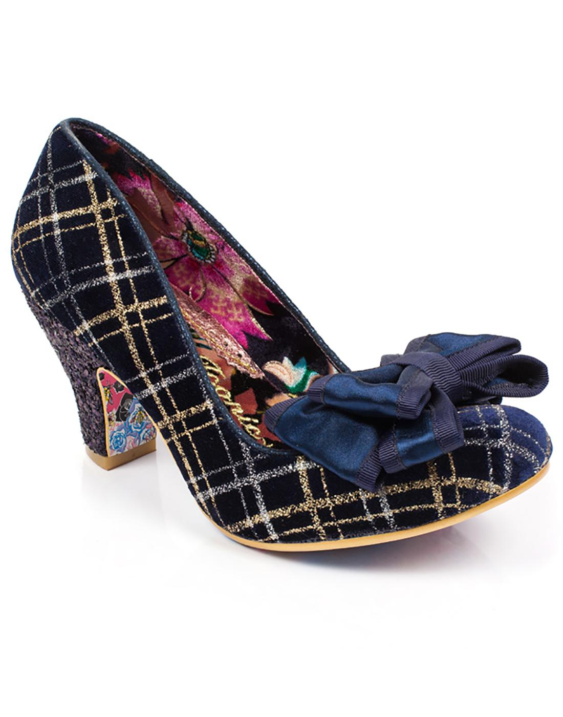 Ban Joe IRREGULAR CHOICE Vintage Tartan Heels N