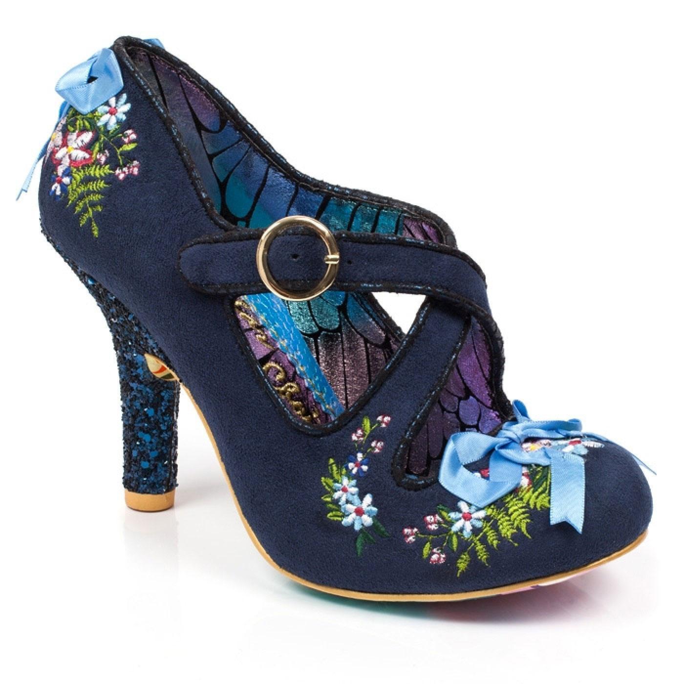 Beryl Blossom IRREGULAR CHOICE 50s Vintage Heels