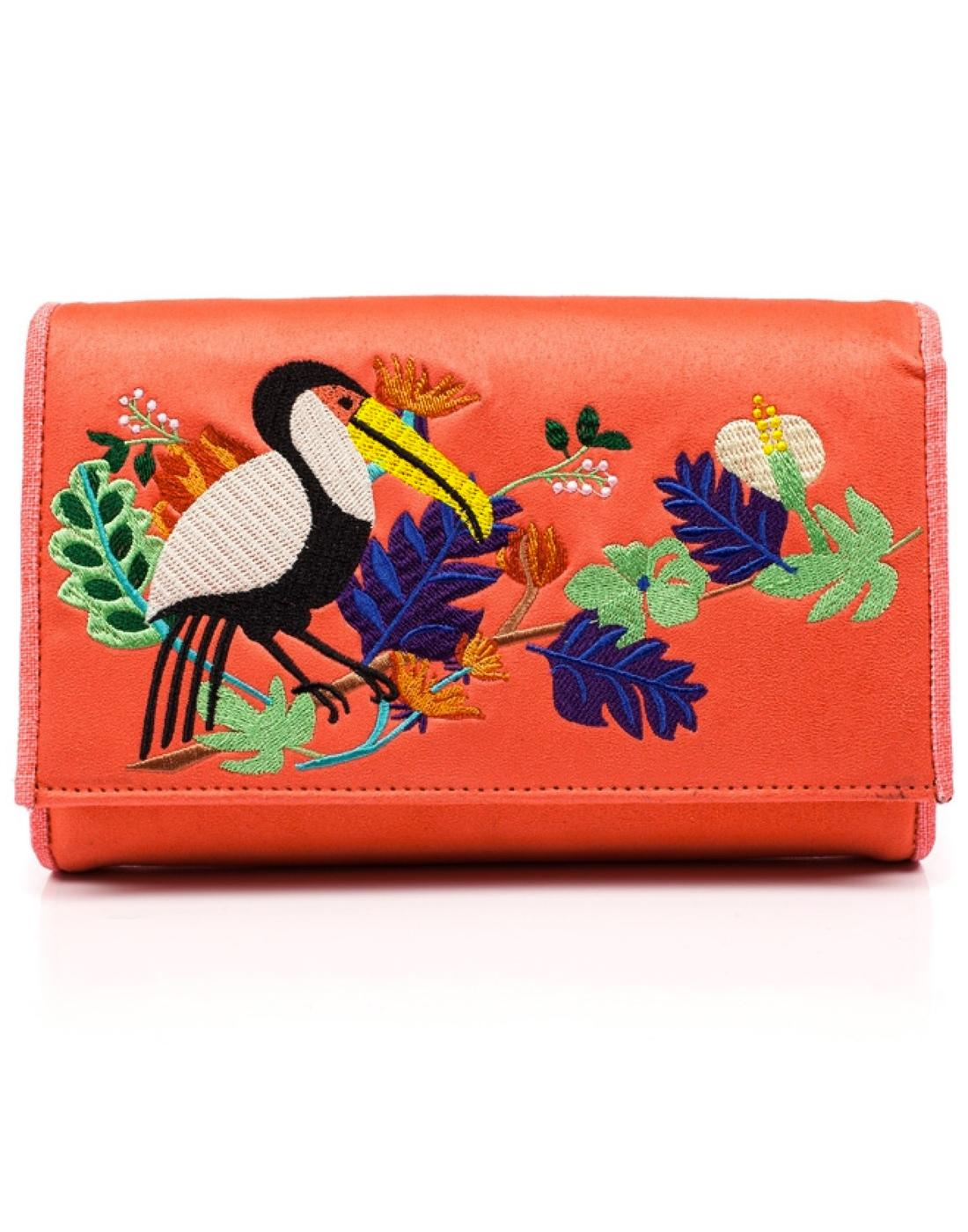 Birdy Beauty IRREGULAR CHOICE Travel Wallet (O)