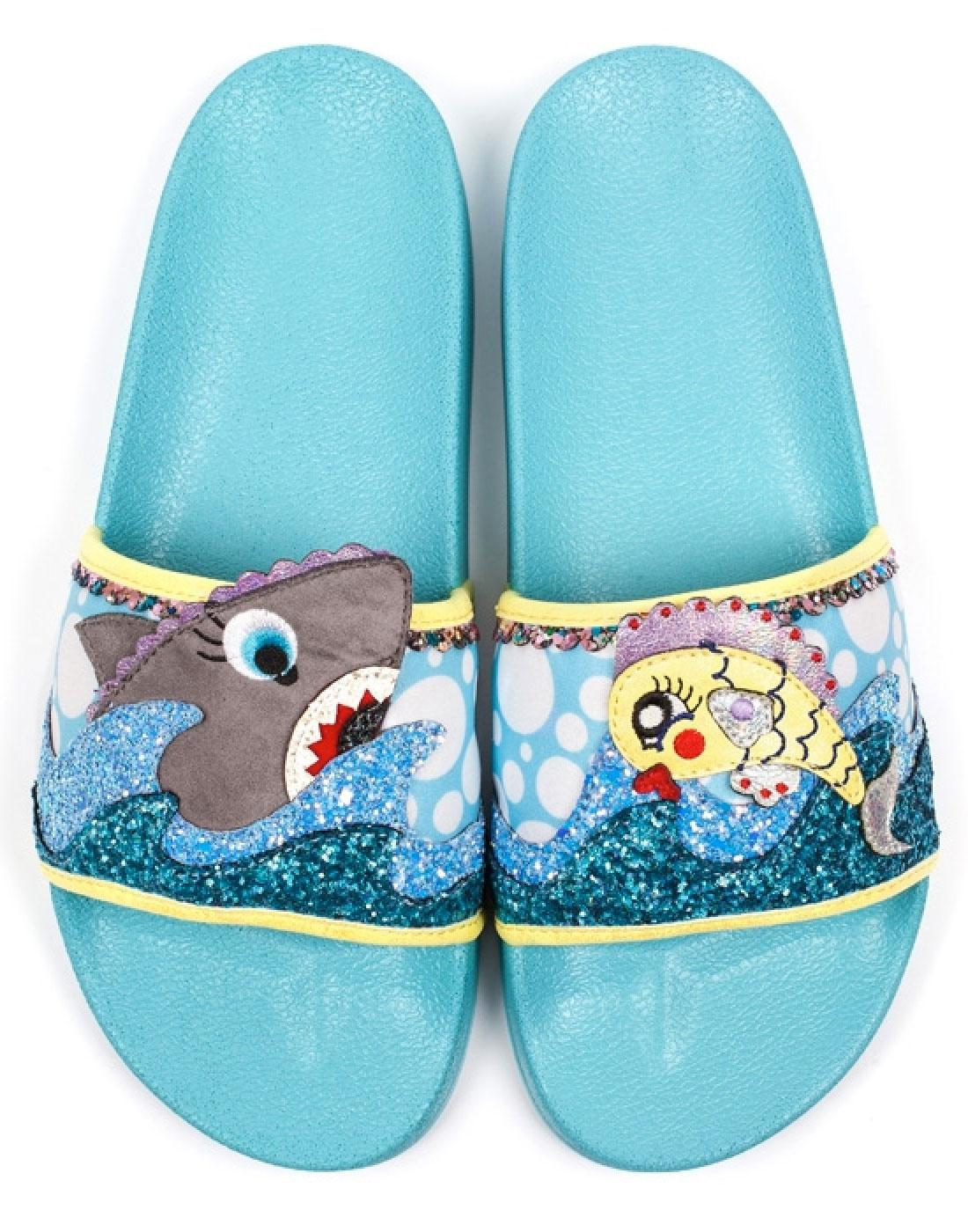 Bubble & Galaxy IRREGULAR CHOICE Pool Sliders