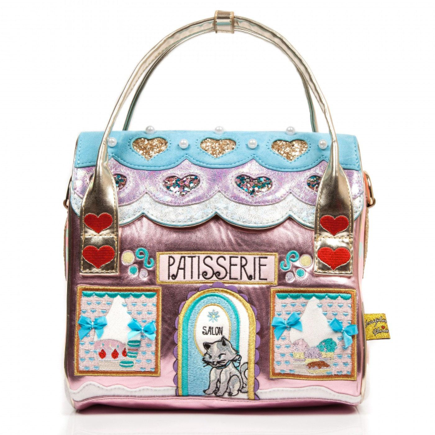 Le Cafe Du Chat IRREGULAR CHOICE Retro Handbag
