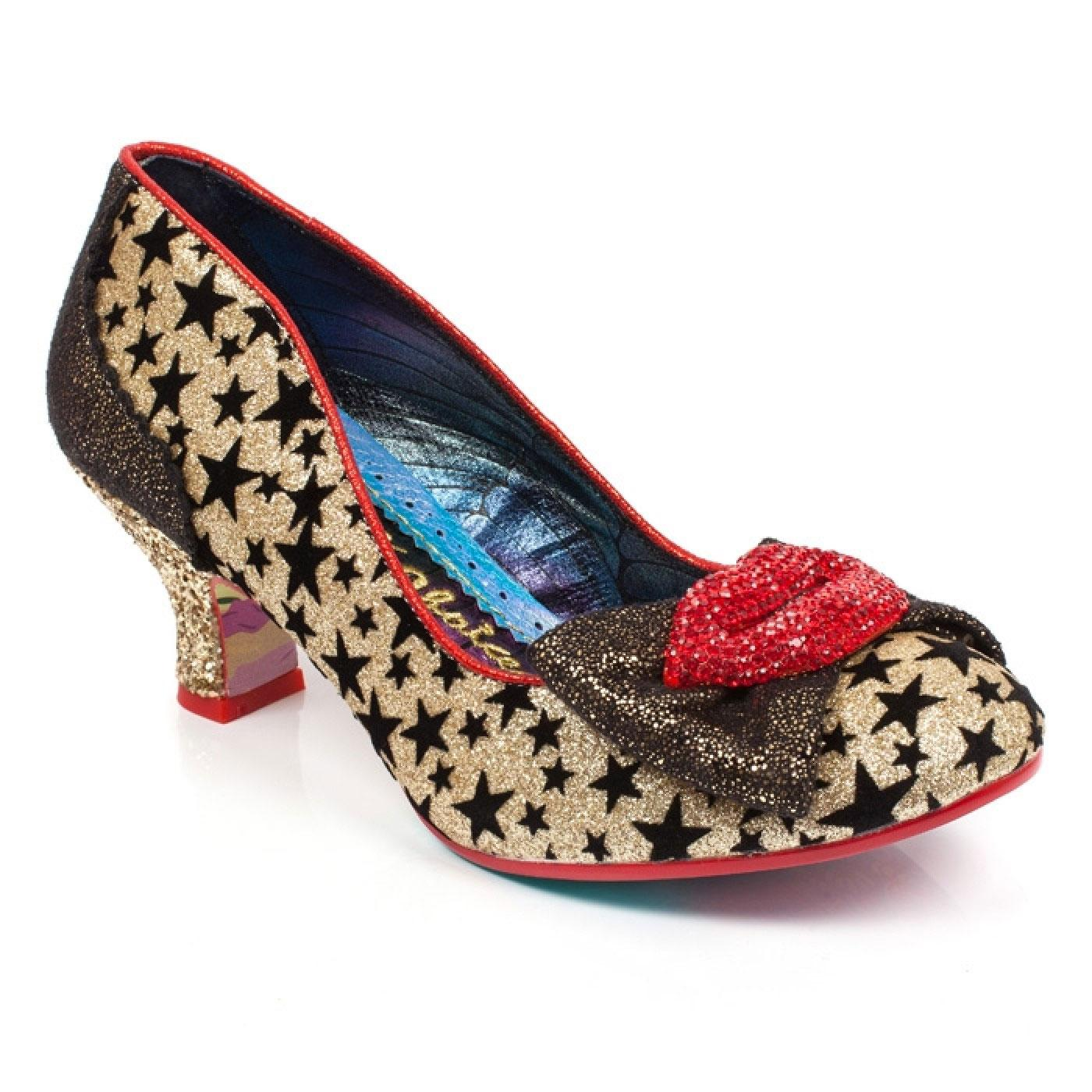 Carnival Kiss IRREGULAR CHOICE Rocky Star Heels G