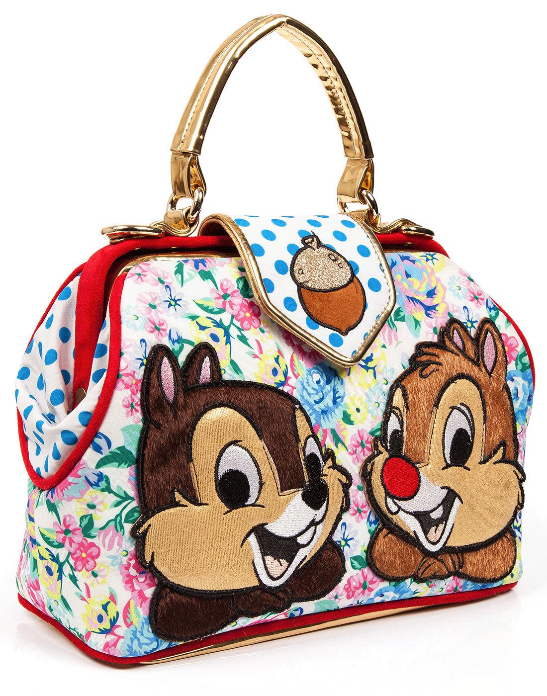 Chip N Dale Irregular Choice Disney Chipmunks Bag