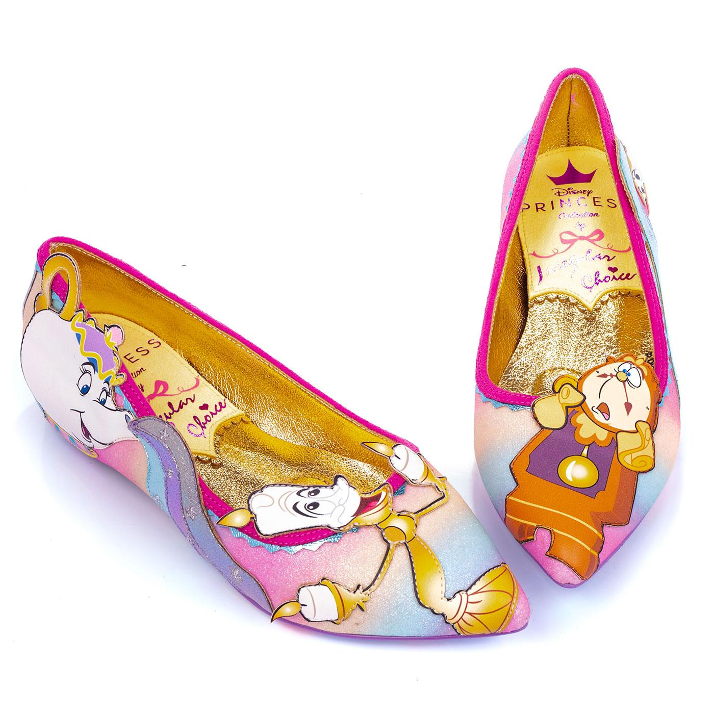 Be Our Guest! IRREGULAR CHOICE Furniture Flats