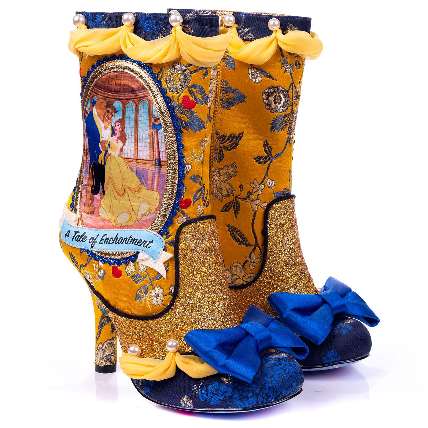 A Tale Of Enchantment IRREGULAR CHOICE Floral Boot