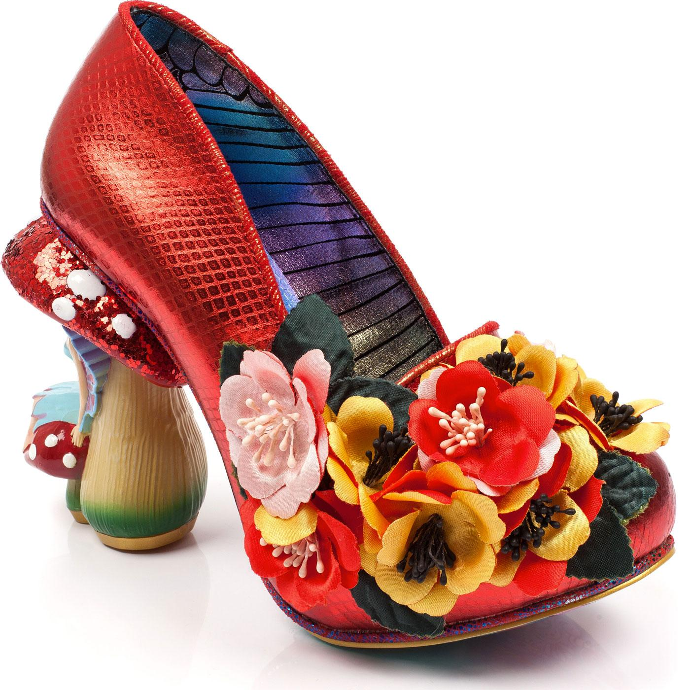 Ember Starwand IRREGULAR CHOICE Floral Fairy Heels