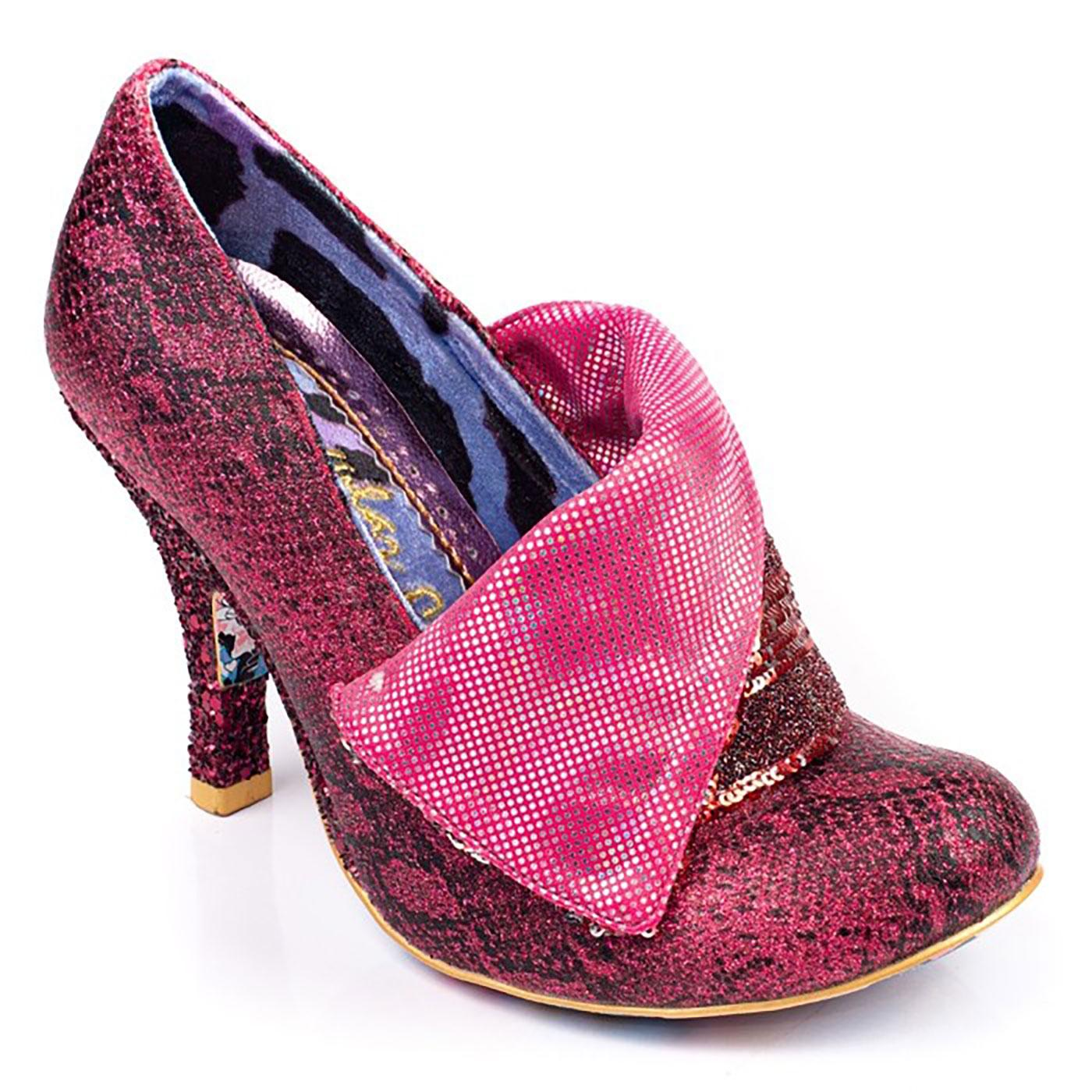 Flick Flack IRREGULAR CHOICE Metallic Heels Pink