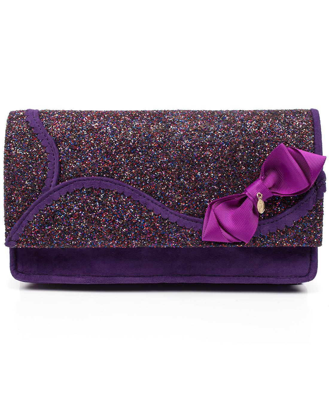 Kanjanka IRREGULAR CHOICE Glitter Clutch Handbag