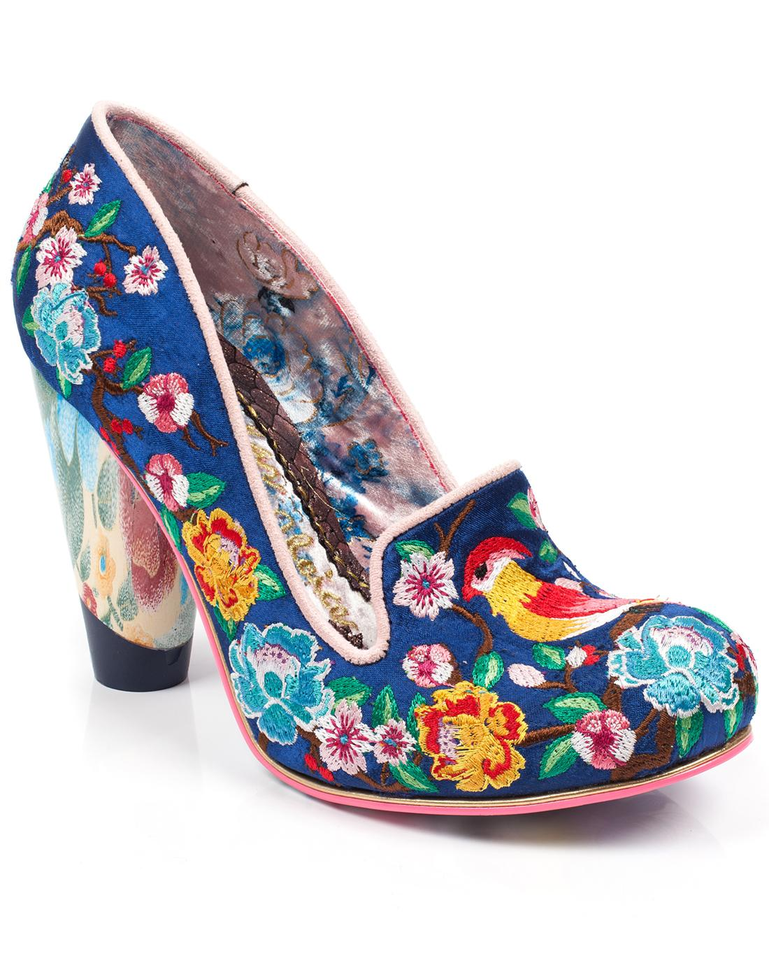 Good Karma IRREGULAR CHOICE Retro Glass Heels