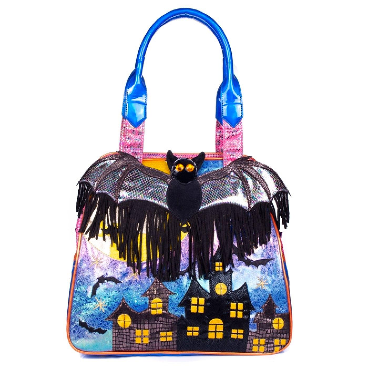 Gone Batty IRREGULAR CHOICE Halloween Bat Handbag