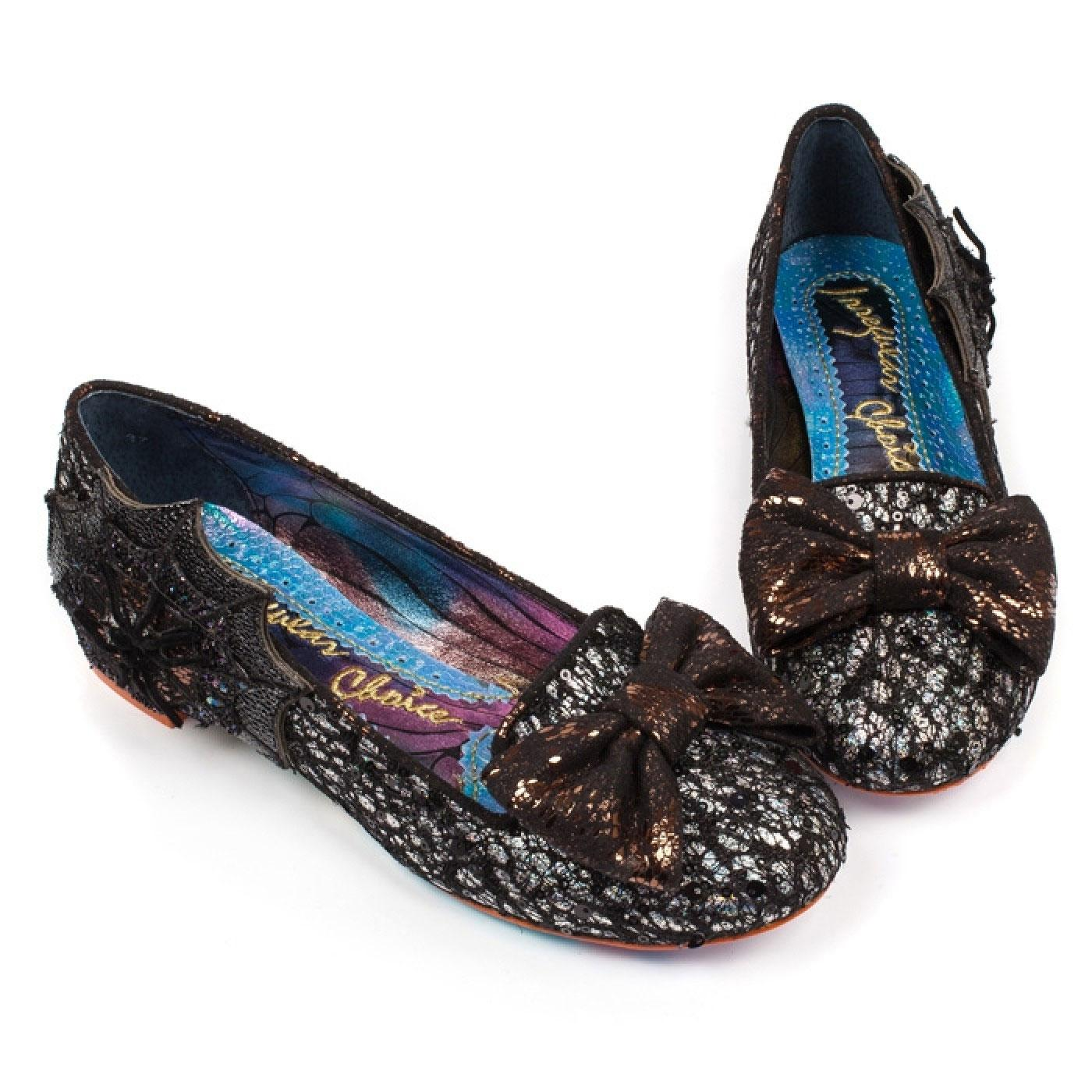Incy Wincy IRREGULAR CHOICE Halloween Flat Shoes