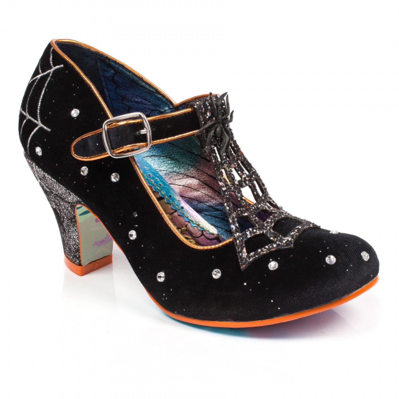 Ms Webb IRREGULAR CHOICE 50s Spiderweb Heels