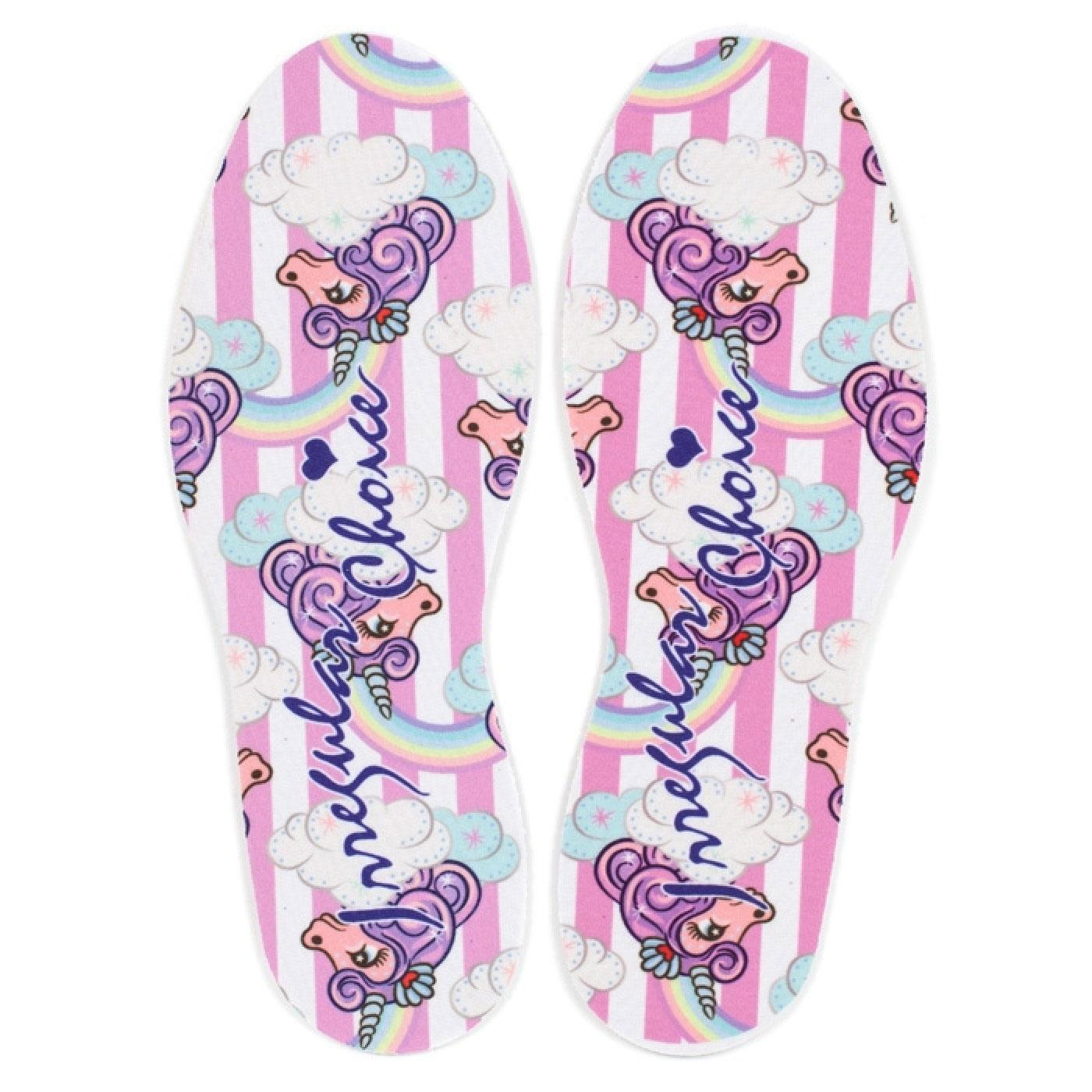 + IRREGULAR CHOICE Lady Daisy Unicorn Shoe Insoles