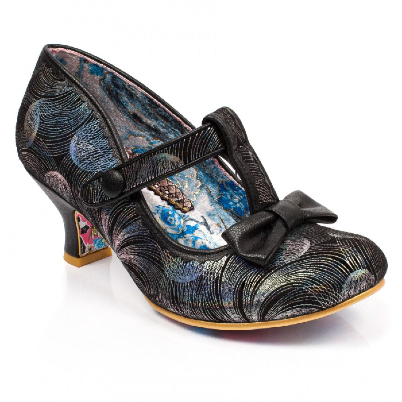 Lazy River IRREGULAR CHOICE Retro T-Bar Shoes